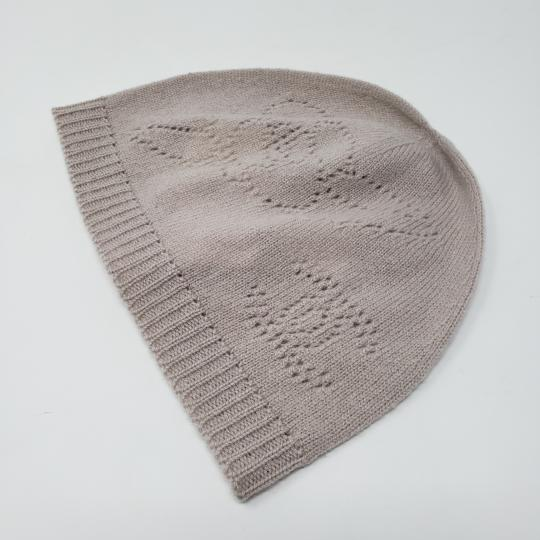Chanel Beige cashmere Chanel interlocking CC knit beanie Image 10