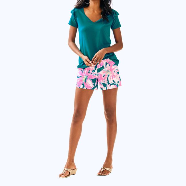 Lilly Pulitzer Mini/Short Shorts Pink Image 9