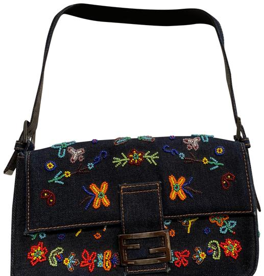 Preload https://img-static.tradesy.com/item/24579826/fendi-beaded-mini-purse-jean-and-multicolored-leather-baguette-0-1-540-540.jpg