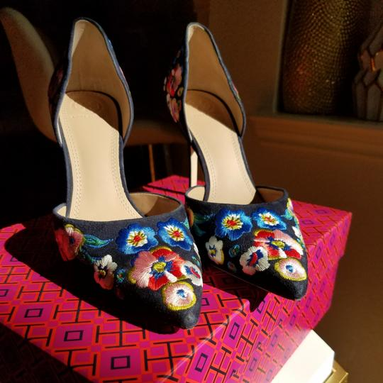 Tory Burch Navy/pansy Platforms Image 2
