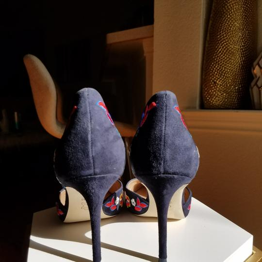 Tory Burch Navy/pansy Platforms Image 4