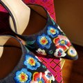 Tory Burch Navy/pansy Platforms Image 5