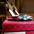Tory Burch Navy/pansy Platforms Image 7
