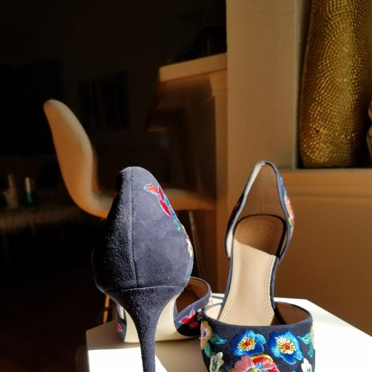 Tory Burch Navy/pansy Platforms Image 8