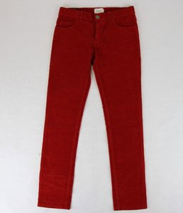 Gucci Red Stretch Cotton Corduroy Pant with Brb Web 8 431163 6007 Groomsman Gift