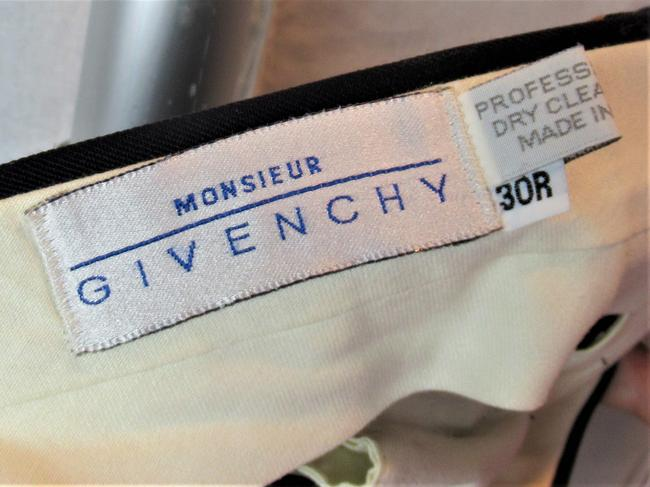 Givenchy Men's 30r Monsieur Trouser Pants Navy Blue Image 1