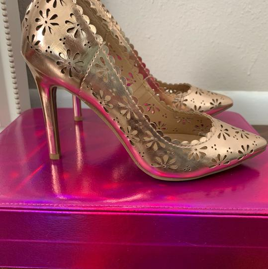 LC Lauren Conrad rose gold Pumps Image 1