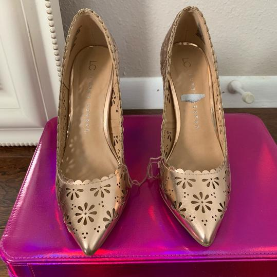 LC Lauren Conrad rose gold Pumps Image 4