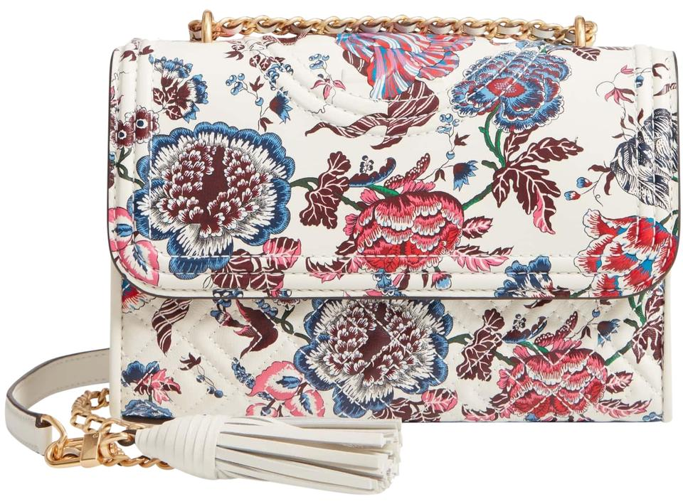180845321f2 Tory Burch Fleming Small Convertible Shoulder Crossbody Happy Times ...