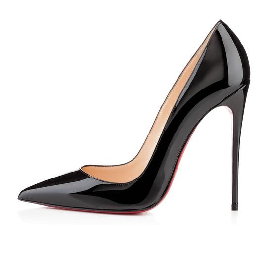 Christian Louboutin Heels Stiletto So Kate Patent Black Pumps Image 0