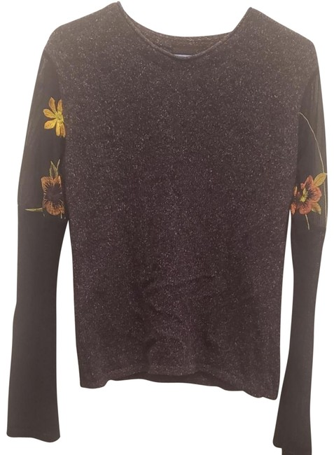 Preload https://img-static.tradesy.com/item/24580044/custo-barcelona-sunflower-sleeves-sweater-0-4-650-650.jpg