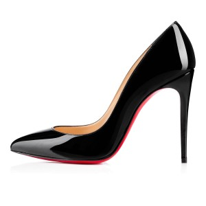 08a541943f1 Christian Louboutin Pigalle 100 Pigalle Heels Patent Pigalle Black Pumps