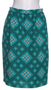 Jonathan Saunders Skirt Blue & Black