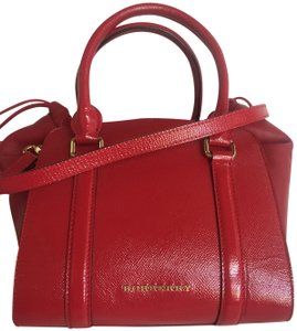 Burberry Tote in Deep Red