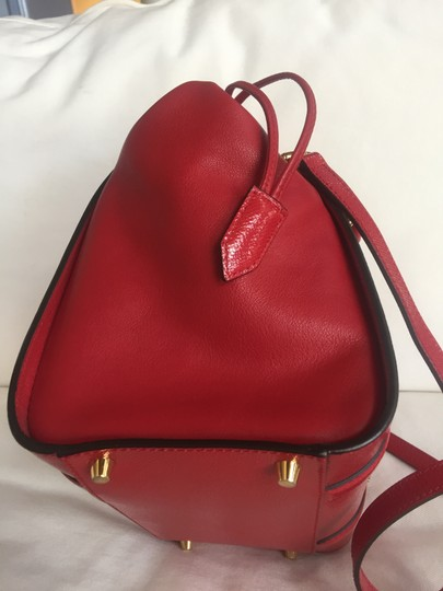 Burberry Tote in Deep Red Image 2