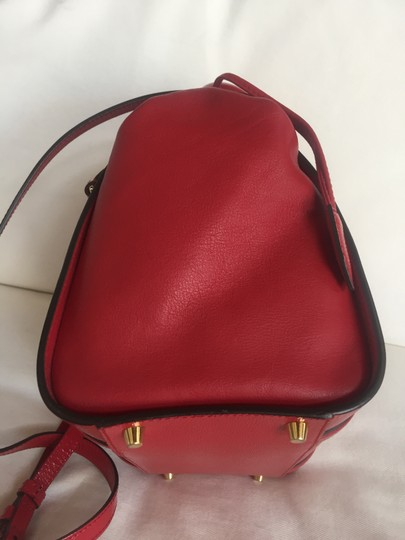 Burberry Tote in Deep Red Image 4