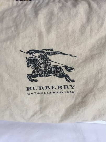 Burberry Tote in Deep Red Image 5