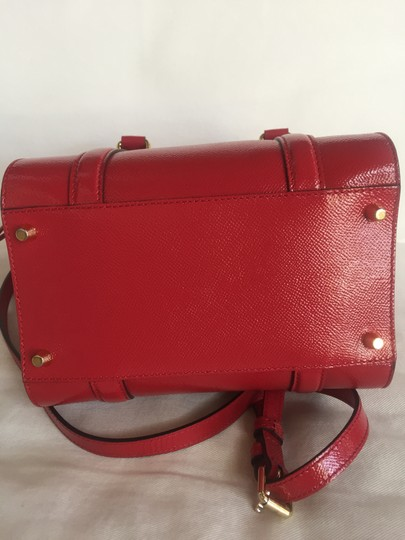 Burberry Tote in Deep Red Image 7
