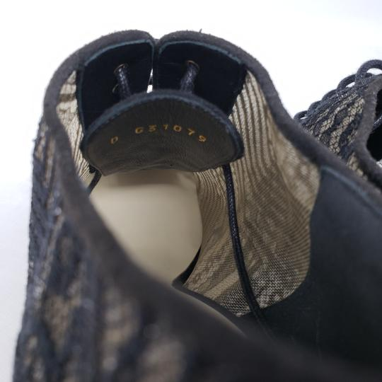 Chanel Lace Gold Hardware Pearl Interlocking Cc Mesh Black Boots Image 10