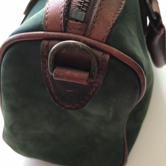 Timberland Satchel in brown and deep green Image 10