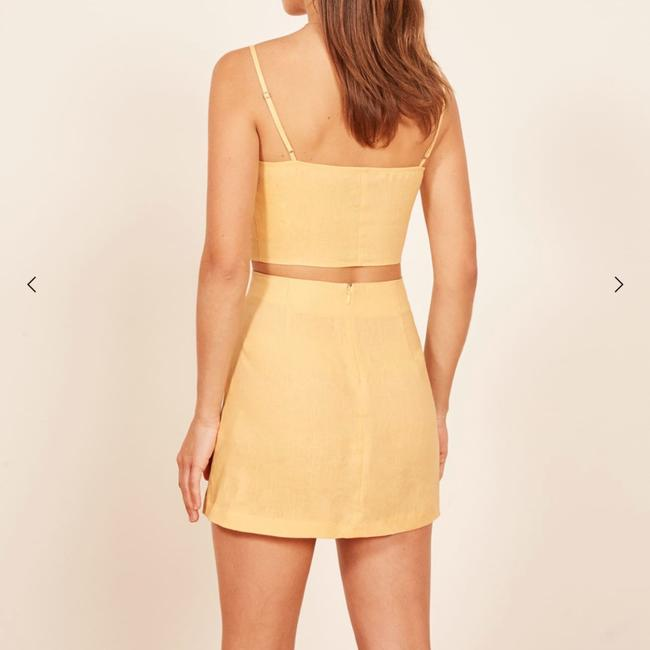 Reformation Top yellow Image 1