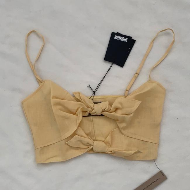 Reformation Top yellow Image 5