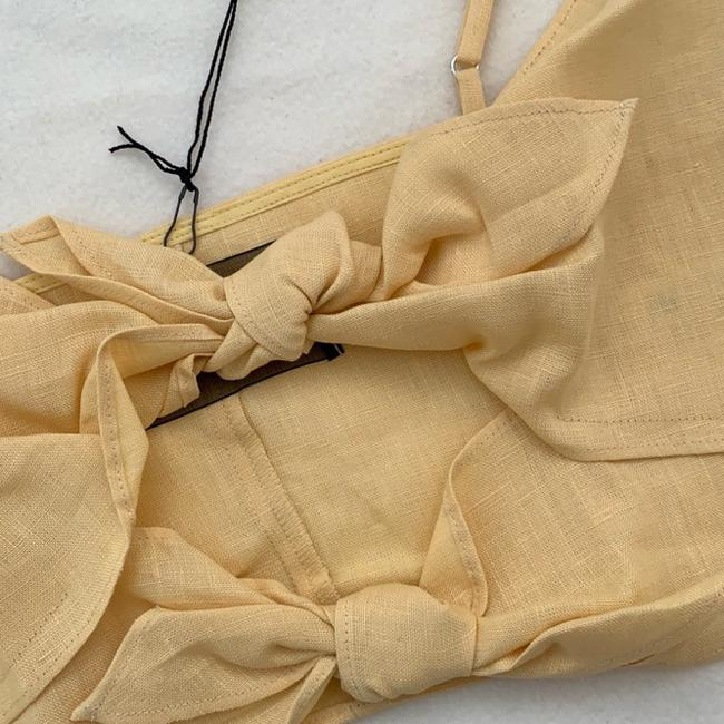 Reformation Top yellow Image 6