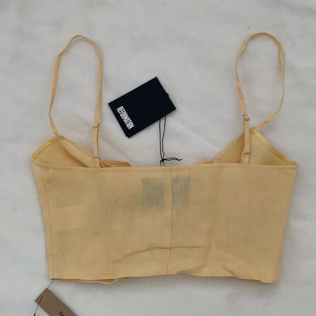 Reformation Top yellow Image 7