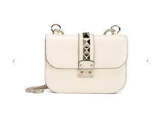 Valentino Rockstud Studded Classic Clasp Closure Shoulder Bag