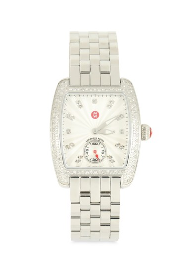 Preload https://img-static.tradesy.com/item/24580534/michele-silver-urban-mini-diamond-watch-0-1-540-540.jpg