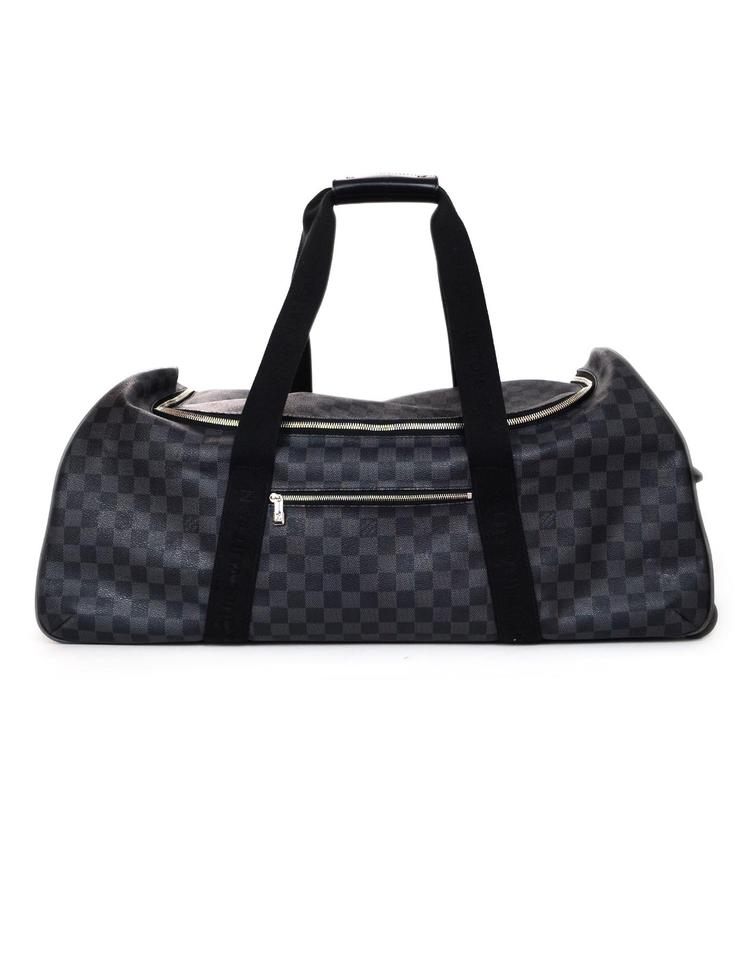 Louis Vuitton Eole Neo Damier Graphite 65 Rolling Luggage Black Grey Coated  Canvas Weekend Travel Bag c13a19eb64d19