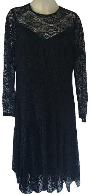 Item - Black Lace A-line Short Cocktail Dress Size 20 (Plus 1x)