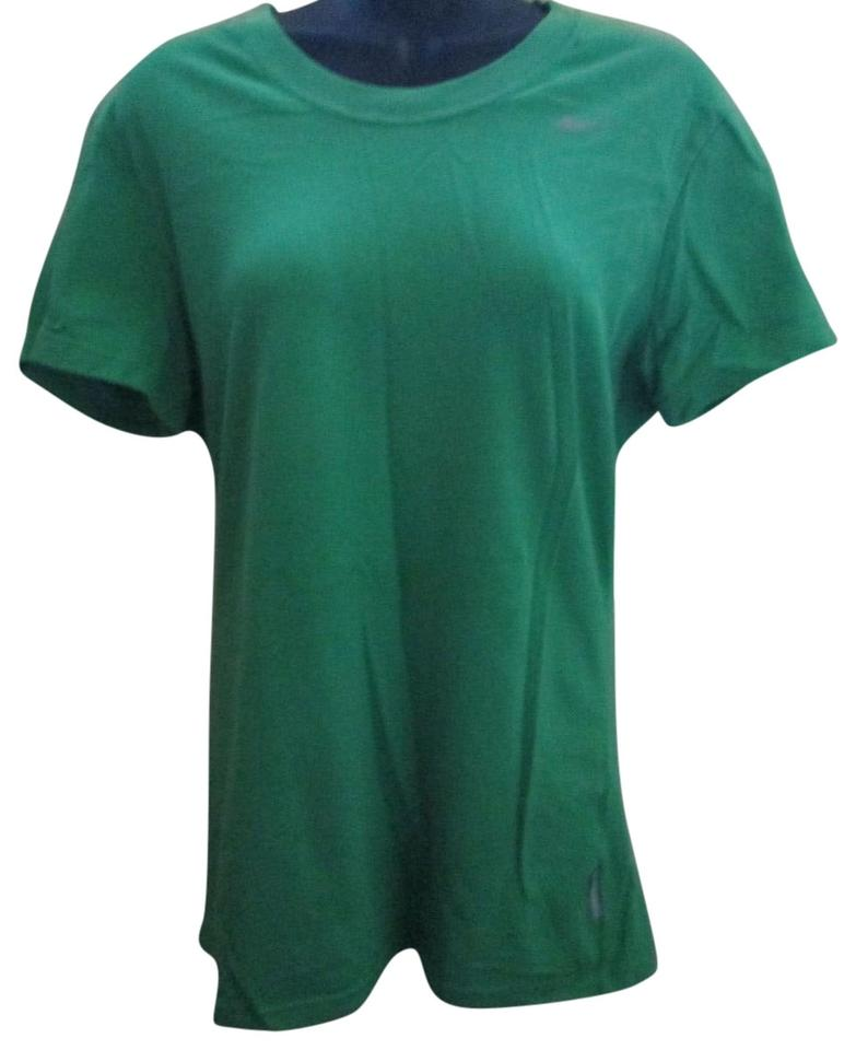 6a0a9d57bf1e Nike Athletic Workout Active Spring Summer T Shirt Green ...