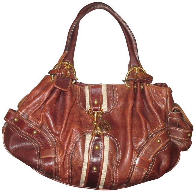 Item - Limited Edition Goat Leather Handbag. Brown Tote