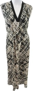 Multicolor Maxi Dress by Vince Silk