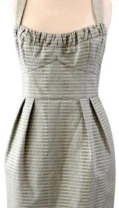 Nanette Lepore short dress light green with off white cream color on Tradesy
