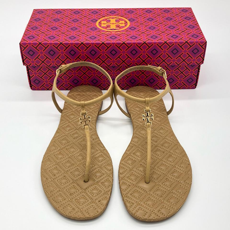 c4b982044 Tory Burch Marion Quilted Sandals Size US 9.5 Regular (M