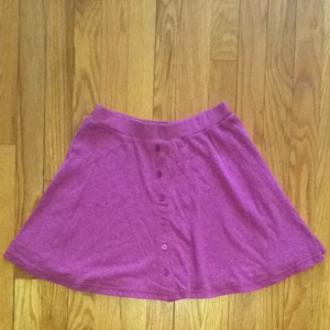 American Eagle Outfitters Skirt Dark Pink