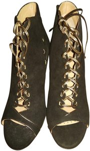 Alexa Wagner Black golden Boots
