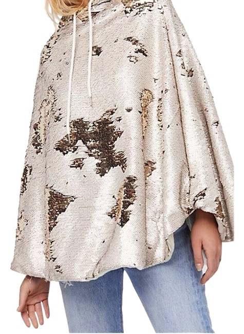 Item - Gold Stay Golden Sequin #44687440 Poncho/Cape Size OS (one size)