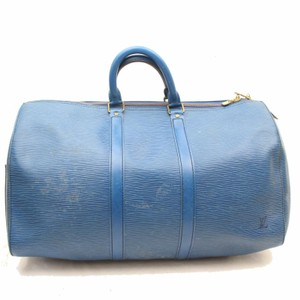 338cc8695dfc Louis Vuitton Duffle Gym Empreinte Cobalt Bandouliere Blue Travel Bag