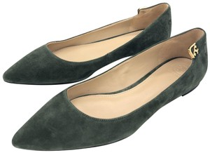 11ea48b2ae Green Tory Burch Flats 9 Up to 90% off at Tradesy