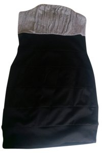 Forever 21 short dress Grey and Black on Tradesy
