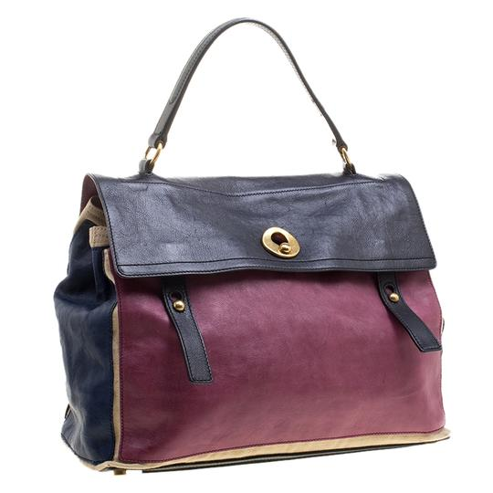 Preload https://img-static.tradesy.com/item/24582561/saint-laurent-muse-two-muse-leather-and-multicolor-canvas-satchel-0-0-540-540.jpg