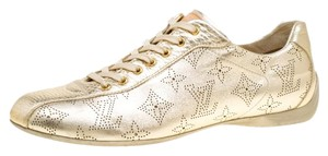 Louis Vuitton Leather Gold Athletic