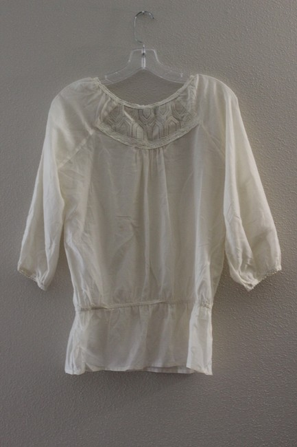 Forever 21 Top Cream Image 2