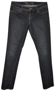 The Limited 678 Faded Stretch Low Rise Skinny Jeans-Dark Rinse