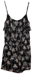 Arizona Jean Company Palm Trees Hawaiian Spaghetti Straps Dress