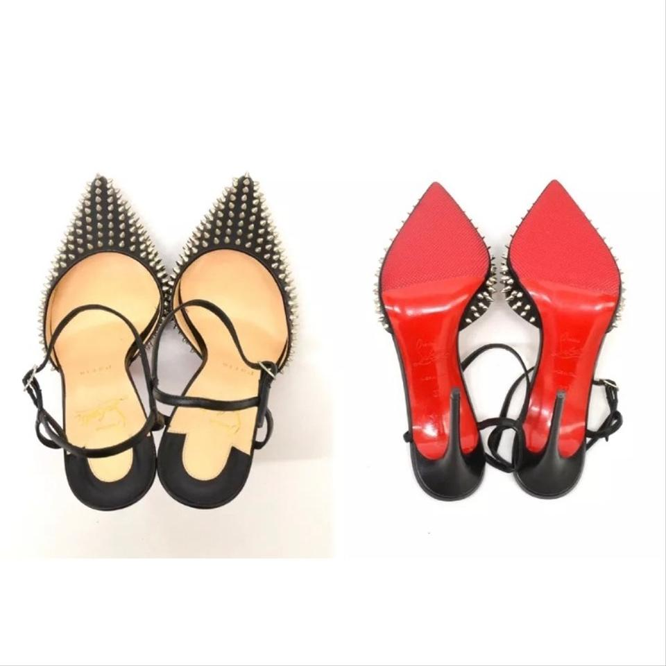 688095f1998a Christian Louboutin Ankle Strap Valentino Rockstud So Kate Iriza Pigalle  Follies Black
