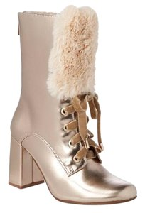 Nanette Lepore champagne Boots